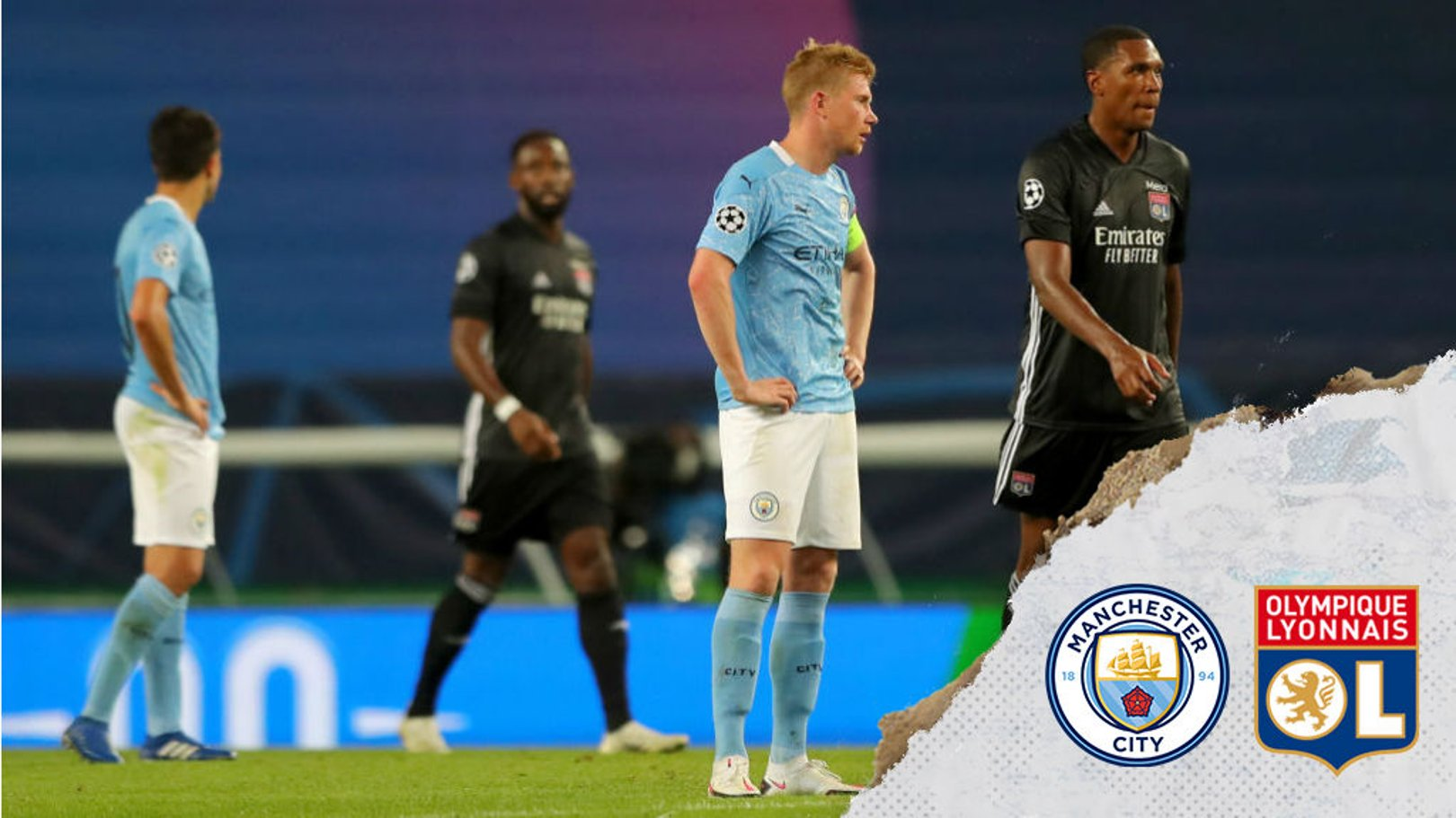 De Bruyne: 'We have to learn the lessons of Lyon loss'