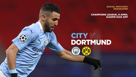 City v Borussia Dortmund: FREE Digital programme