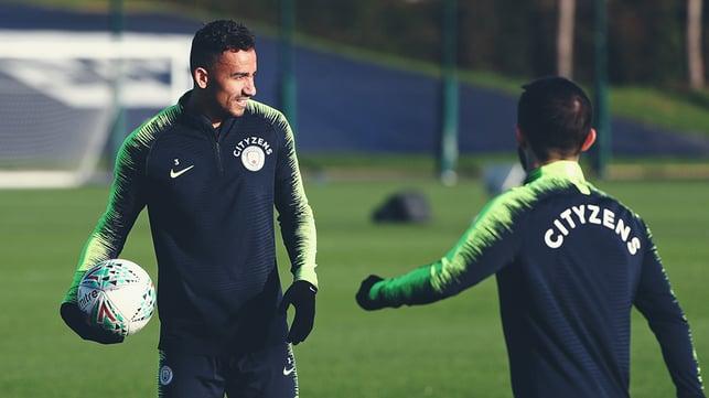 MY BALL : Danilo lays claim