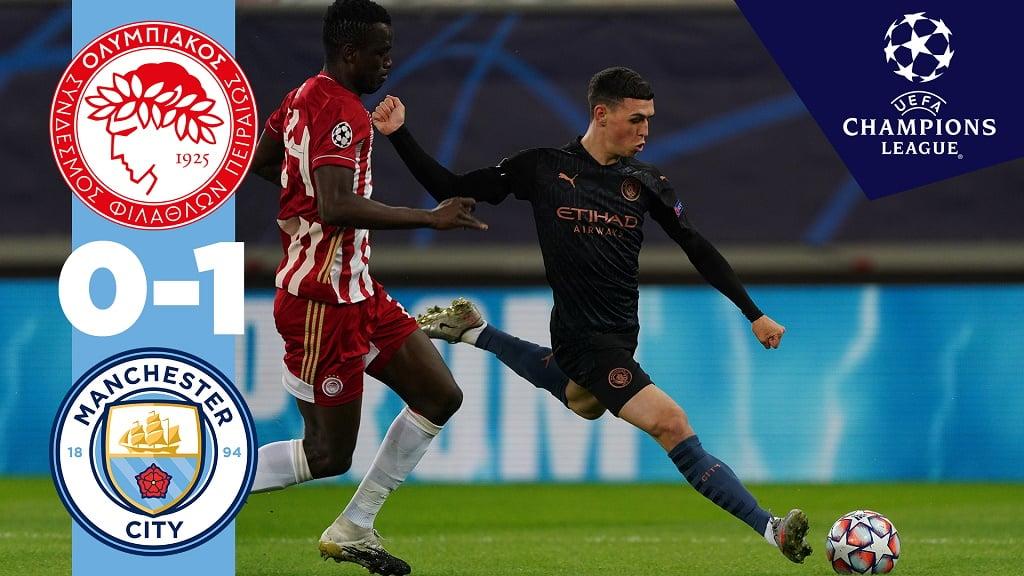 Olympiakos 0-1 City: Melhores Momentos
