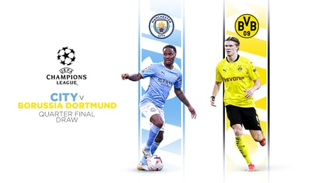 City-Dortmund pour les quarts de finale de la LDC