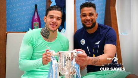 City's top five Cup saves