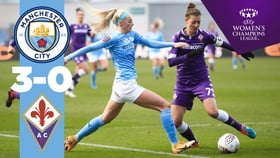 City 3-0 Fiorentina: resumen UWCL