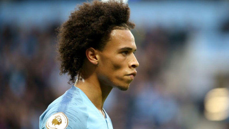 IN SANE : Leroy was outstanding on his return to the starting XI