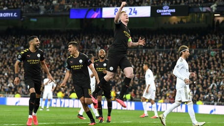 DE BRUYNE DELIGHT: A crucial goal from a brilliant Belgian