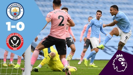 City 1-0 Sheffield United: Full-match replay