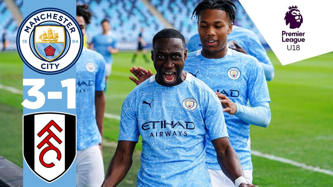 Match highlights: City U18s 3-1 Fulham