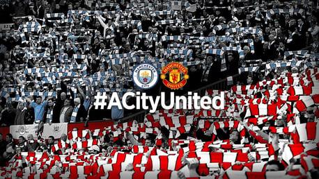 #ACityUnited - Clubes de Manchester se reúnem para doar £ 100.000 a bancos de alimentos locais.