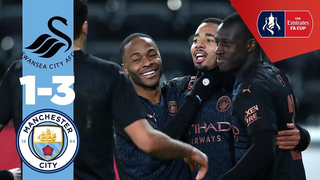 Swansea 1-3 City: Match highlights