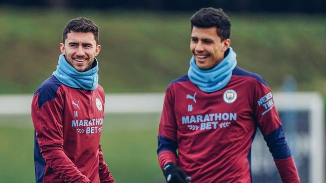 Aymeric and Rodrigo