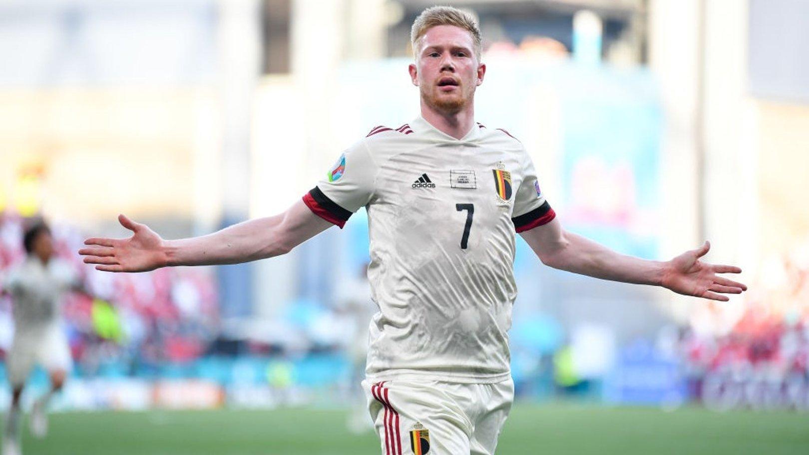 Brilliant De Bruyne returns in style to fire Belgium into last 16 at Euro 2020
