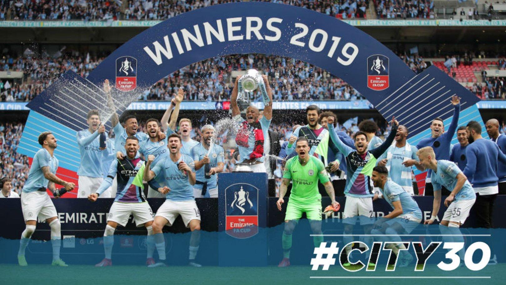 #City30: Wembley six-shooters