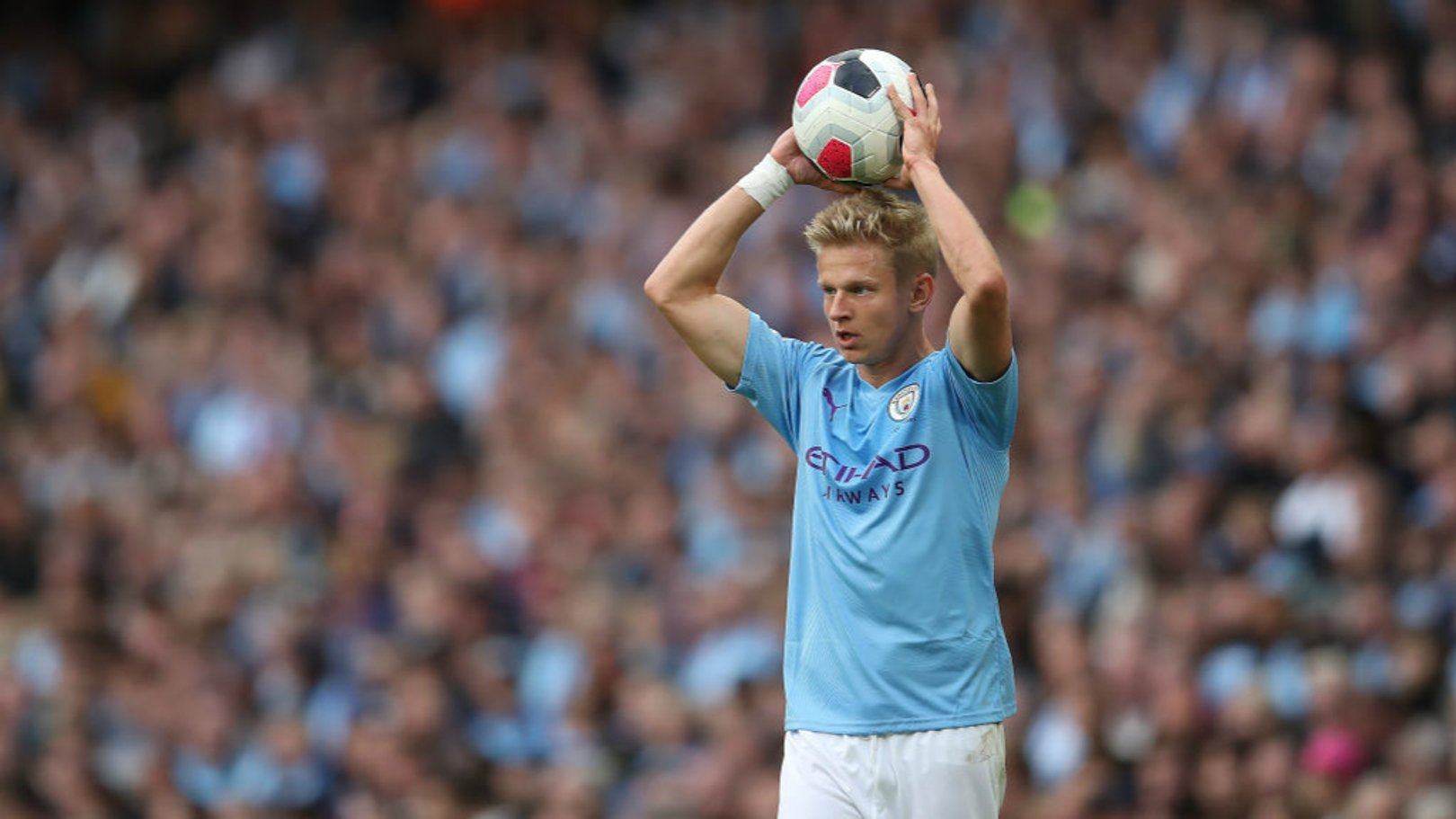 POSITIVE: Oleks Zinchenko is pleased with City's level of performance so far this season.
