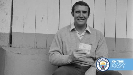 On this day: City mourn Big Mal – and it's seven up at the double