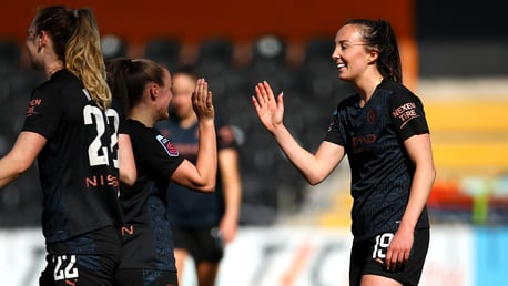City sink Spurs to stay in FA WSL title hunt