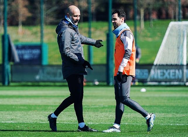 PEP TALK : The boss catches up with Bernardo Silva