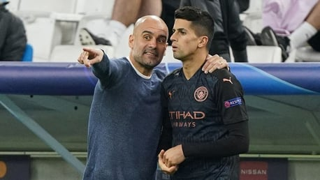 Cancelo: I love the way Pep sees football!