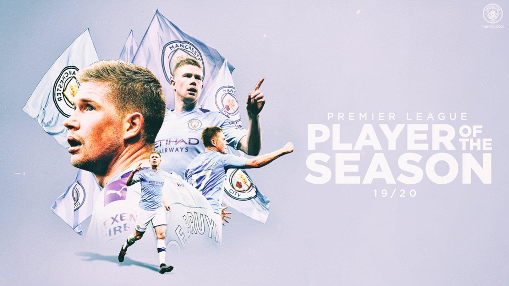 De Bruyne named Premier League Player of the Season