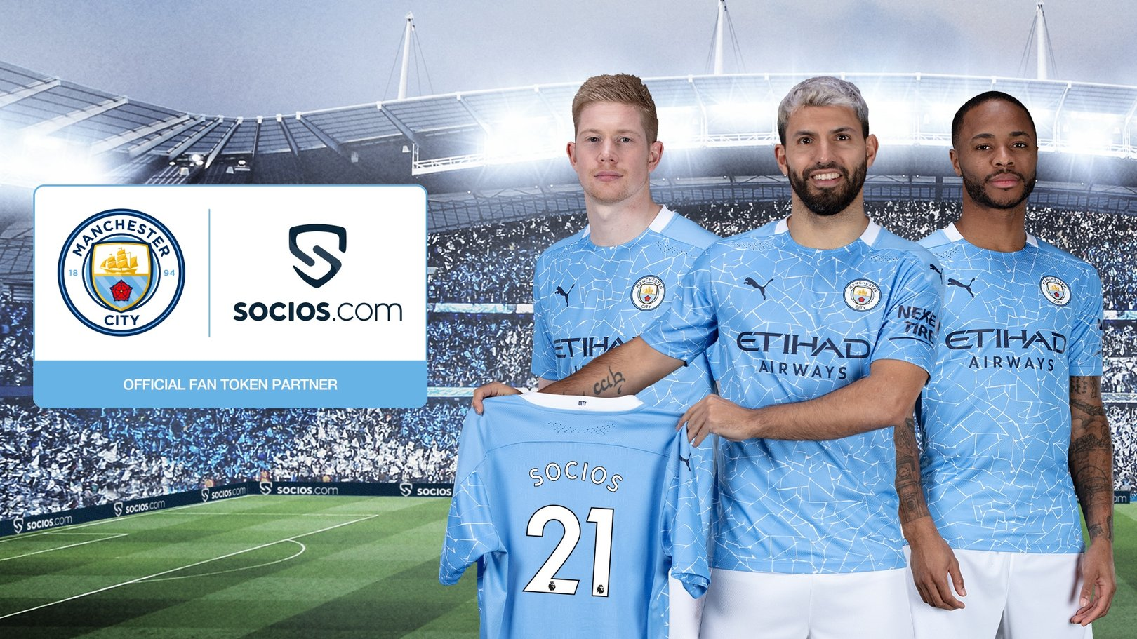 City and Socios.com launch Manchester City fan token