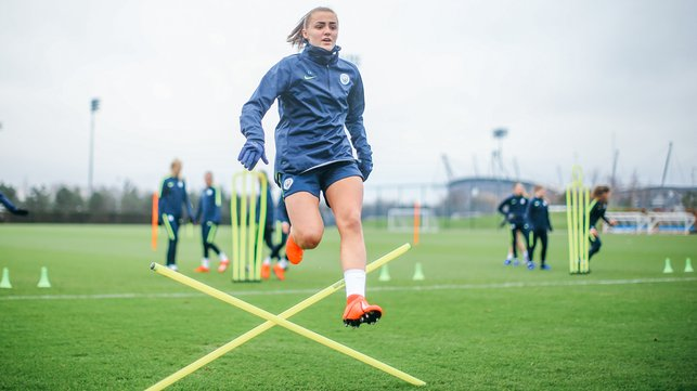 FLYING HIGH : December's FA WSL Player of the Month Georgia Stanway in full flight