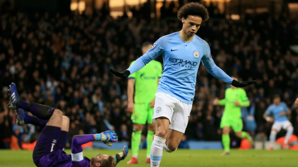 LIGHTNING LEROY : Leroy Sane bagged his 50th goal in all competitions at senior club level!