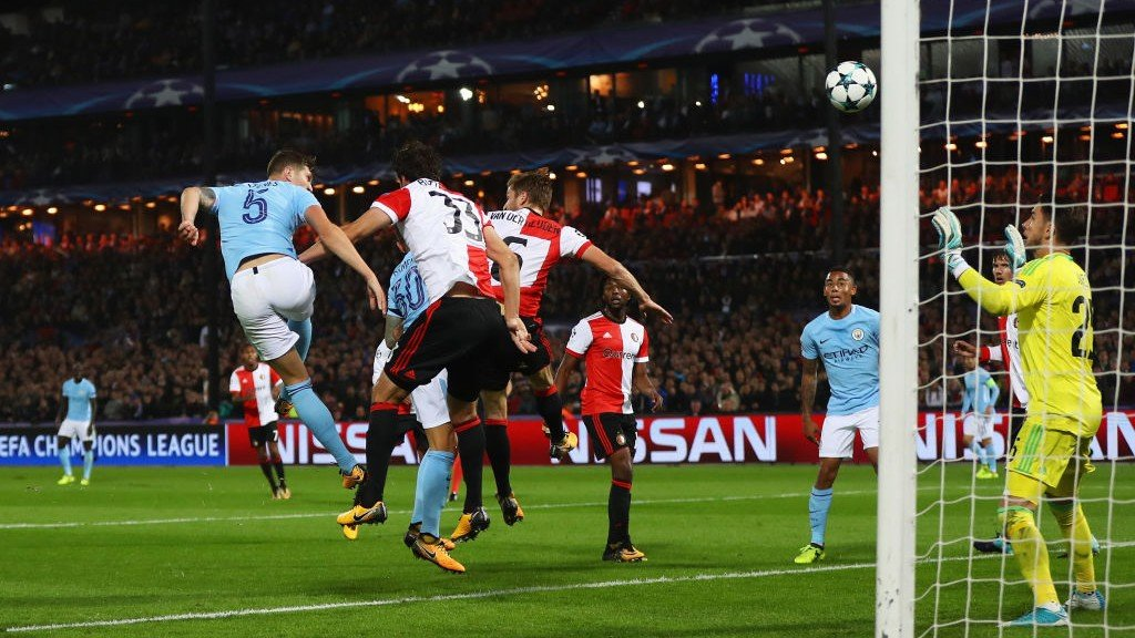 Classic highlights: Feyenoord 0-4 City