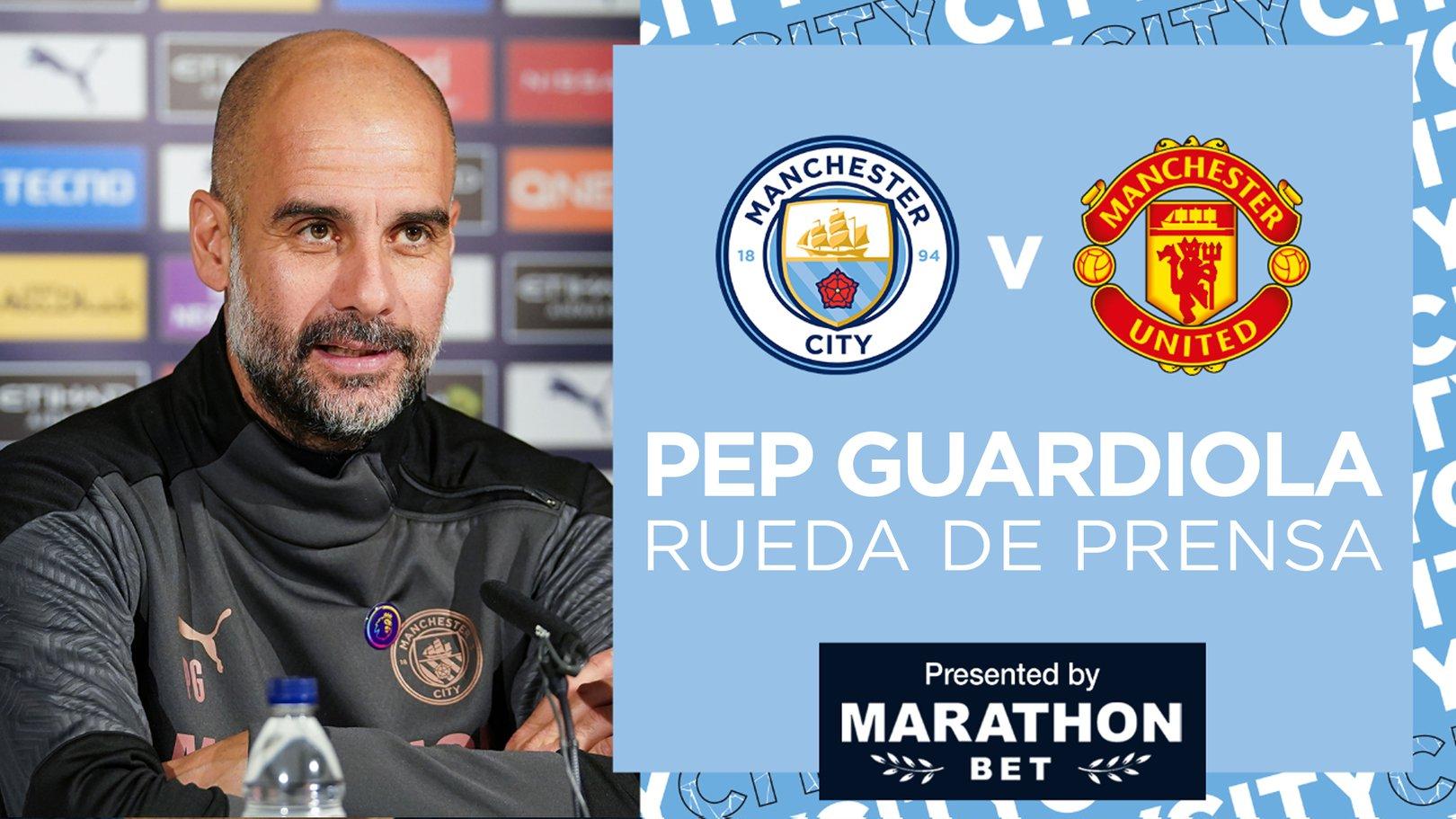 Pep Guardiola advierte de la dificultad del United