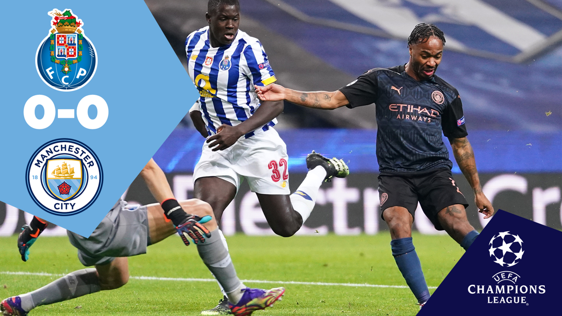 Full-match replay: Porto 0-0 City