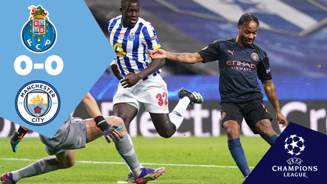 Ulangan Penuh Pertandingan: Porto 0-0 City