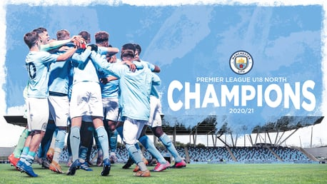 City crowned Under-18 Premier League North champions
