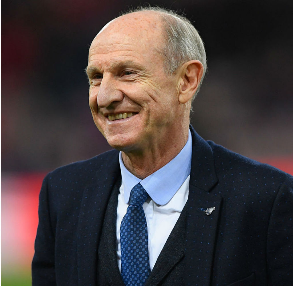 TRUE BLUE: Dennis Tueart had two memorable spells as a City player and also served as a director of the Club