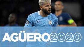 Los goles de Agüero en 2020