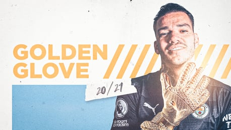 Ederson retains Premier League Golden Glove award