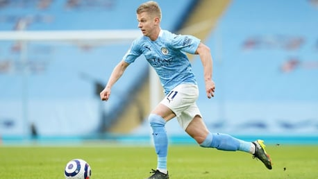 Zinchenko: City's squad have a hunger for silverware