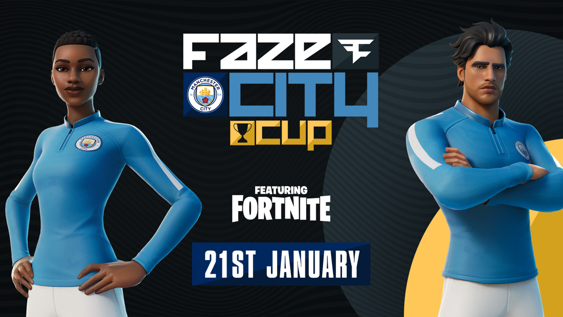 City collaborate with FaZe Clan to bring football to Fortnite