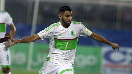 Mahrez fires Algeria to AFCON last eight