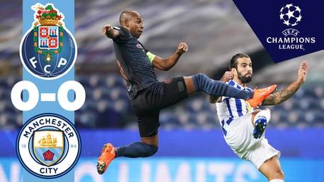 Porto 0-0 City: resumen