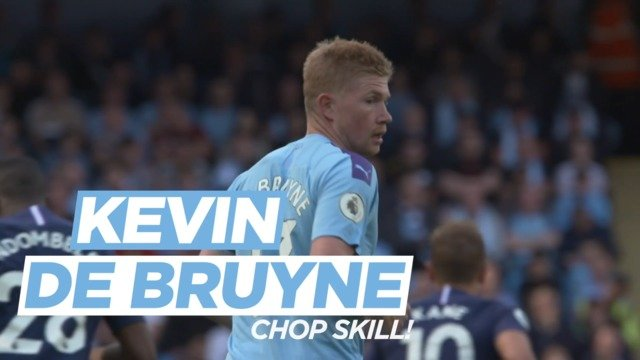 Daily challenges: Kevin De Bruyne Chop Skill!