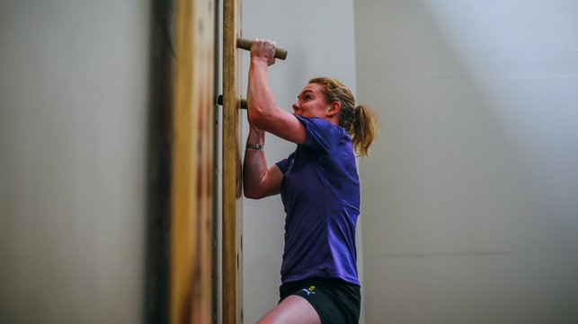 ONLY WAY IS UP : Extreme upper body strength from Aoife Mannion
