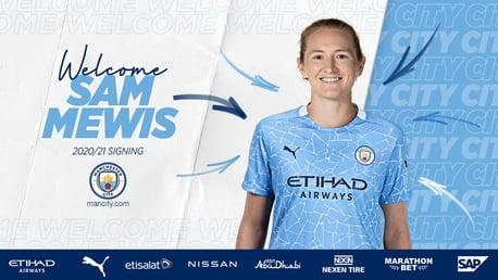 Sam Mewis signe à City