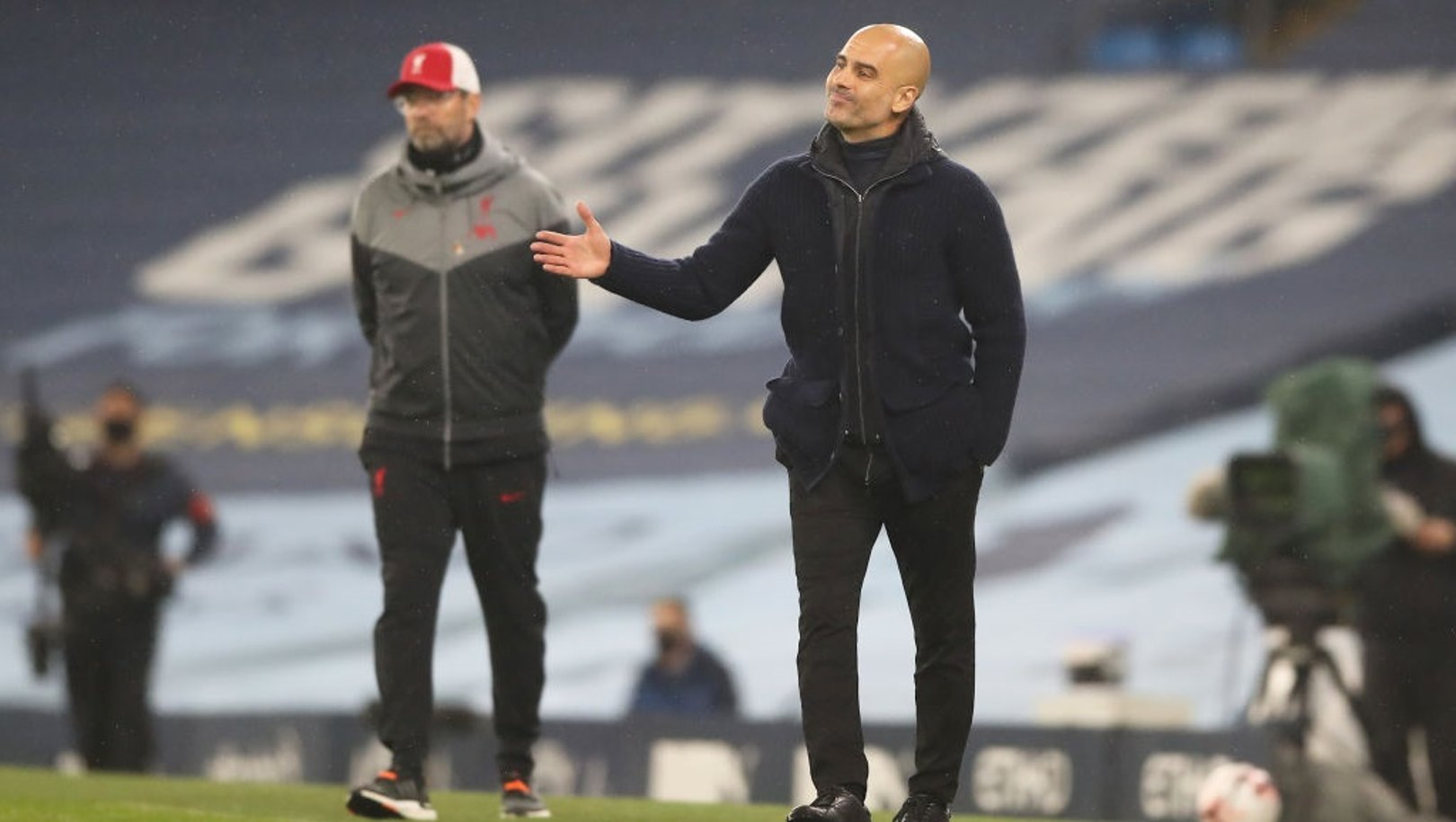 'It was a fair result,' says Pep