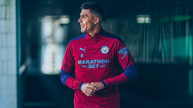 FOKUSKAN PIKIRAN: Rodrigo menuju fokus pelatihan