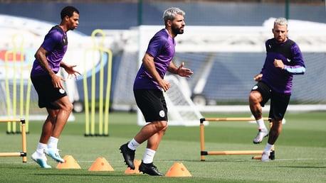 Training: Aguero, Jesus and Otamendi are back!