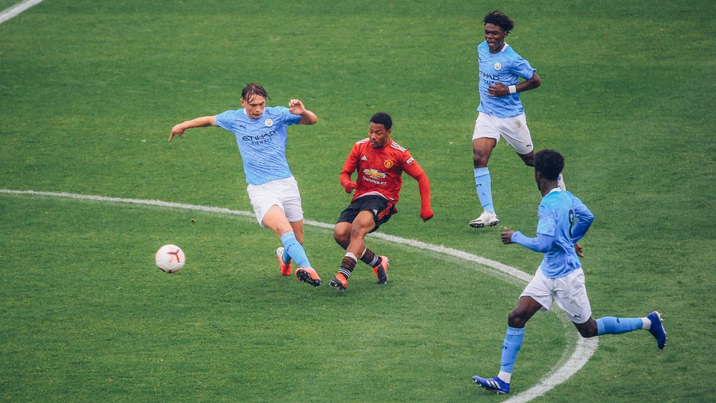Under-18s' remarkable run ended by United
