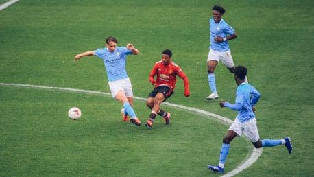 10-men City claim Under-18 derby spoils