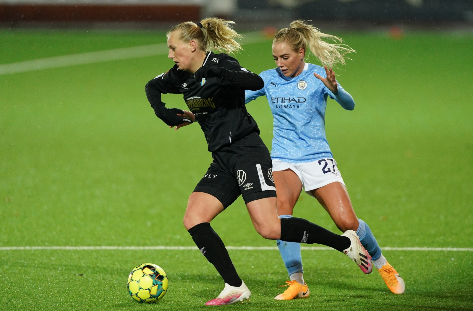 50 up for Stanway in impressive UWCL fightback