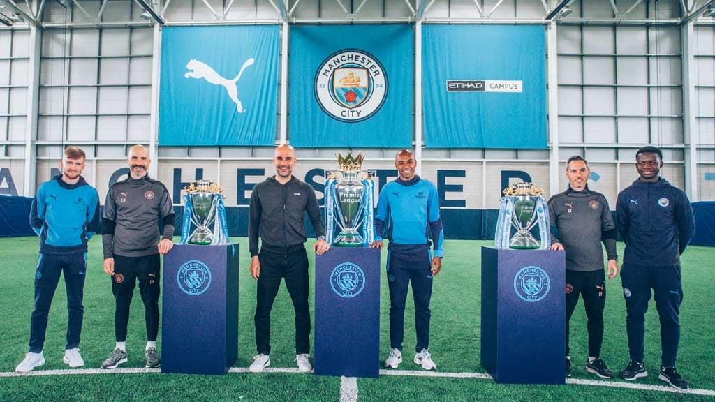 Guardiola, Maresca and Vicens celebrate historic Premier League hat-trick