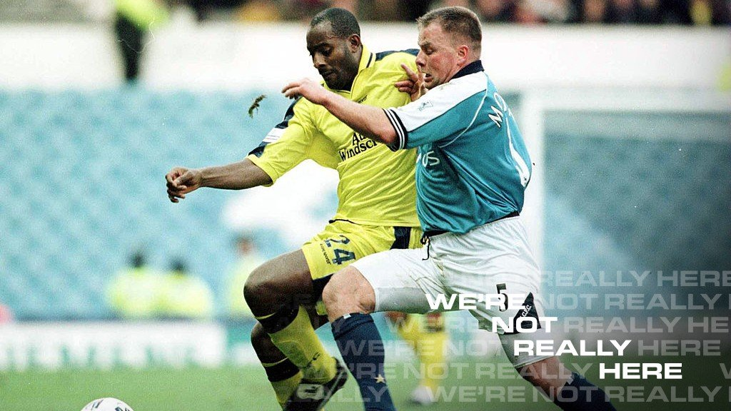 Goater and Morrison join forces for West Brom We're Not Really Here show