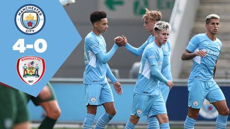 City 4-0 Barnsley: Full match replay