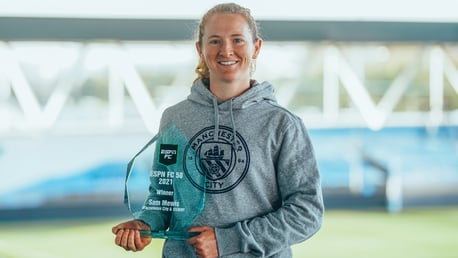 Mewis named Best Women's Player by ESPN FC